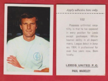 Leeds United Paul Madeley England 102